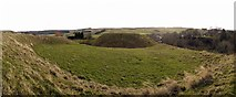 NY9393 : Motte & Bailey Castle, Elsdon by Andrew Curtis