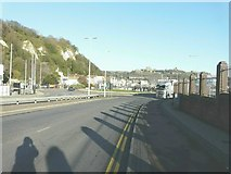 TR3140 : Prince of Wales roundabout, Dover by John Baker