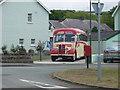 SN5167 : Old Bedford bus in Llanon by Eirian Evans