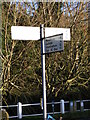 TM2677 : Roadsign on the B1116 Harleston Road by Adrian Cable
