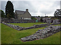 SN7465 : The cloister - Strata Florida Abbey by Phil Champion