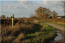 SJ8615 : Woolaston Lane to Church Eaton by Row17