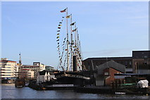 ST5772 : SS Great Britain faces a December sou'westerly! by Roger Davies
