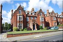 TM1645 : Part of Ipswich School by N Chadwick