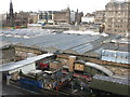 NT2573 : Waverley Station from the Scotsman Steps by M J Richardson