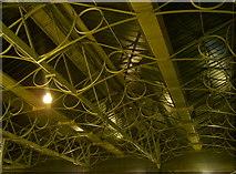 NY4055 : Carlisle railway station roof by Neil Owen