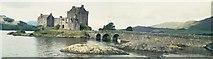 NG8825 : Eilean Donan Castle by Len Williams