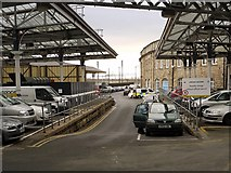 NZ2463 : Former site of Newcastle Forth Railway Station by Andrew Curtis