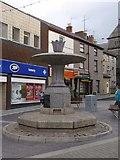 SH4862 : Former Fountain on Pool Street, Caernarfon by Meirion
