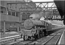 SJ8499 : Newcastle - Liverpool express passing through Manchester Victoria by Ben Brooksbank