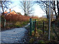 SJ8293 : Footpath off Nell Lane by Phil Champion