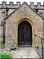 ST5312 : Porch, St Michael's Church by Maigheach-gheal