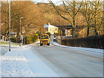 SD7915 : Gritting Waterside Road by David Dixon