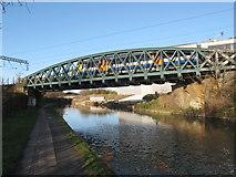 TQ2182 : Rail bridge 7b Paddington Arm - London Overground by David Hawgood