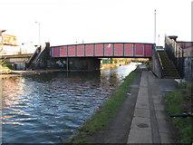 TQ2282 : Bridge 6 Paddington Arm - Scrubs Lane by David Hawgood