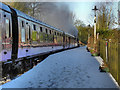 SD7914 : Steam Train at Summerseat by David Dixon