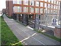 TQ2482 : Paddington Arm - Alderson Street access by David Hawgood