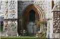 TQ3090 : St Michael, Bounds Green Road, Wood Green, London N22 - Calvary by John Salmon