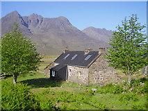 NH0680 : Shenavall Bothy by John Ferguson