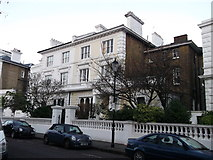 TQ2678 : No.11 and 12, The Boltons, Chelsea by David Anstiss