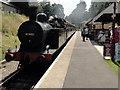 TQ5336 : Spa Valley Railway, Groombridge Railway Station by Helmut Zozmann