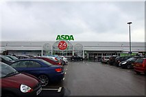 SD3333 : The ASDA superstore on Cherry Tree Road by Steve Daniels