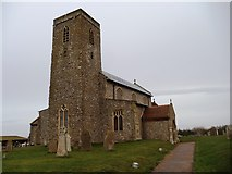 TG1743 : All Saints Church, Beeston Regis by Bill Henderson
