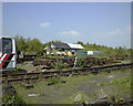 SS6695 : The yard and signal box at Swansea Vale Railway by vectorkraft
