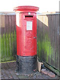 TQ2182 : Edward VII postbox, Station Approach, NW10 by Mike Quinn