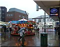 SJ9494 : Carousel on Hyde Market by Gerald England