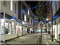 TR1457 : Guildhall Street at night by Oast House Archive