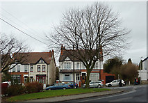 SO9096 : Housing in Westbourne Road, Penn, Wolverhampton by Roger  Kidd