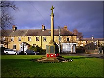 NZ1164 : Wylam War Memorial by Andrew Curtis