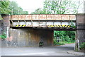 SU8832 : Railway Bridge, Liphook Rd by N Chadwick