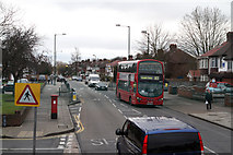 TQ2087 : Church Lane, Kingsbury by Martin Addison