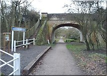 TL6921 : Remains of Bannister Green Halt by Phillip Williams