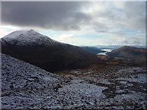 NN0548 : On the west ridge of Beinn Fionnlaidh by Alan O'Dowd
