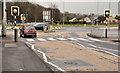 J1487 : Zebra crossing, Antrim by Albert Bridge