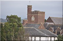 SS9712 : Tiverton : Blundell's School Clock by Lewis Clarke