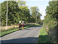 SP1663 : Riding on Pettiford Lane by Robin Stott