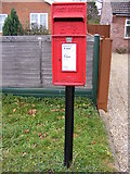 TG2219 : Stratton/Waterloo Road Postbox by Adrian Cable