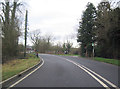 SP7329 : A413 approaching Adstock turning by John Firth