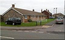 ST6288 : Quarry Road bungalows, Alveston by Jaggery