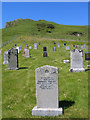 NG3534 : Cemetery at Portnalong by Trevor Littlewood