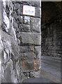 ST5670 : Benchmark on the railway bridge in Ashton Drive by Neil Owen