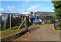 SO2914 : Southern entrance to Our Lady and Saint Michael's RC primary school, Abergavenny by Jaggery