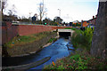 SP0483 : Culvert over the Bourn Brook near Arley Road, Bournbrook by Phil Champion