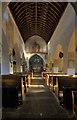 SS9668 : St Illtuds Church Interior by Guy Butler-Madden