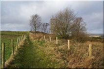 SD7013 : Path to open land from Horrocks Fold by Bill Boaden