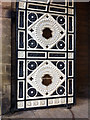 SE0925 : Ornamental gates to the Piece Hall, Halifax by Phil Champion